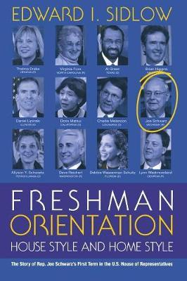 Freshman Orientation: House Style and Home Style - Sidlow, Edward