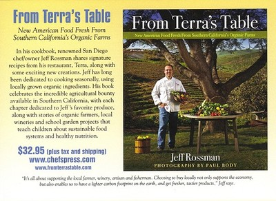 From Terra's Table: New American Food Fresh from Southern California's Organic Farms - Rossman, Jeff