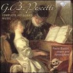 G.B. Pescetti: Complete Keyboard Music