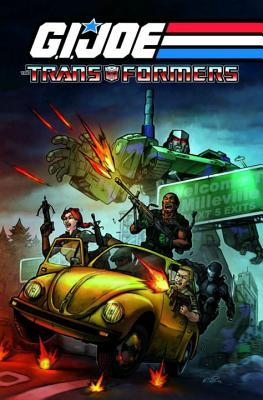G.I. Joe / Transformers Volume 1 - Higgins, Michael (Illustrator), and Hama, Larry, and D'Orozco, Jesse (Illustrator)