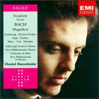 Gabriel Faure: Requiem; Pavane; Bach: Magnificat - Anne Pashley (soprano); Dietrich Fischer-Dieskau (baritone); Henriette Puig-Roget (organ); Janet Baker (mezzo-soprano);...