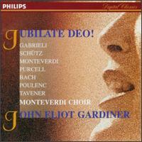 Gabrieli/Schütz/Monteverdi/Purcell/Bach/Poulenc/Tavener - Monteverdi Choir; Nicolas Robertson (tenor); Monteverdi Choir (choir, chorus); John Eliot Gardiner (conductor)