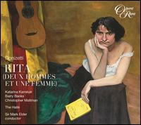 Gaetano Donizetti: Rita - Barry Banks (vocals); Christopher Maltman (vocals); Katarina Karn�us (vocals); Hall� Orchestra; Mark Elder (conductor)