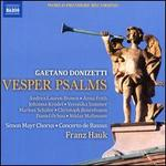 Gaetano Donizetti: Vesper Psalms