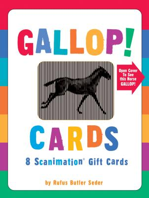 Gallop! Cards (Scanimation) - Seder, Rufus Butler