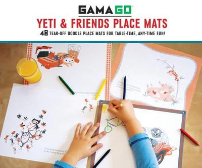 Gamago Yeti & Friends Place Mats - Gamago