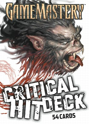Gamemastery Critical Hit Deck New Printing - Bulmahn, Jason
