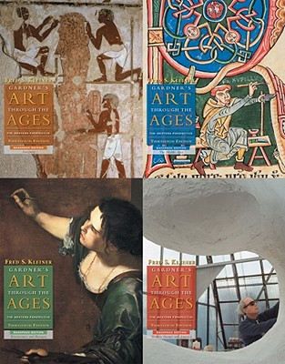 Gardner's Art Through the Ages: 4 Volume Backpack Edition (with Art Study & Timeline Printed Access Card) - Kleiner, Fred S
