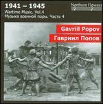 Gavriil Popov: Symphony No. 3; Symphonic Aria