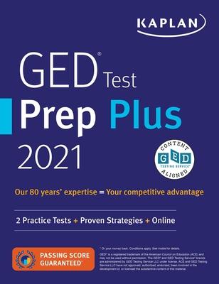 GED Test Prep Plus 2021: 2 Practice Tests + Proven Strategies + Online - Van Slyke, Caren