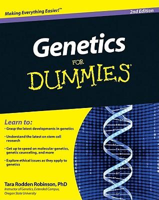 Genetics for Dummies - Robinson, Tara Rodden