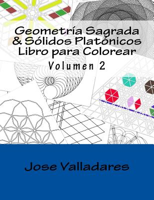 9781987466201: Geometría Sagrada & Sólidos Platónicos Libro Para ...