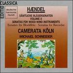 Georg Friedrich Handel: Sonatas For Wood-Wind Instruments, Volume II