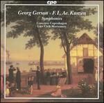 Georg Gerson, F.L. Ae. Kunzen: Symphonies