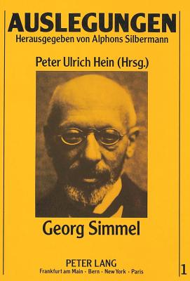 Georg Simmel - Hein, Peter Ulrich (Editor)