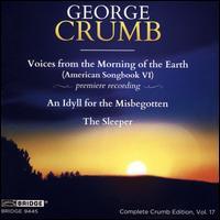 George Crumb, Vol. 17 - Ann Crumb (soprano); Artwell Matthews, Jr. (percussion); David Colson (percussion); Marcantonio Barone (piano);...