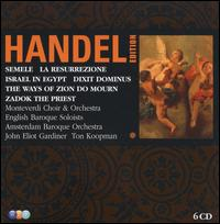 George Frideric Handel: Semele; Israel in Egypt; The Ways of Zion Do Mourn; Zadok the Priest; La Resurrezione; Dixit - Alastair Thompson (tenor); Anthony Rolfe Johnson (tenor); Ashley Stafford (counter tenor); Barbara Schlick (soprano);...