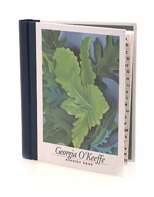Georgia O'Keefe Address Book (Deluxe) - O'Keeffe, Georgia