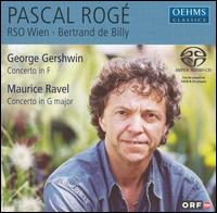 Gershwin: Concerto in F; Ravel: Concerto in G major - Pascal Rogé (piano); ORF Vienna Radio Symphony Orchestra; Bertrand de Billy (conductor)