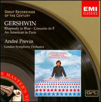 Gershwin: Rhapsody in Blue; Concerto in F; An American in Paris - André Previn (piano); Gervase de Peyer (clarinet); Howard Snell (trumpet); London Symphony Orchestra; André Previn (conductor)