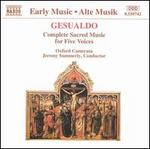 Gesualdo: Complete Sacred Music for Five Voices