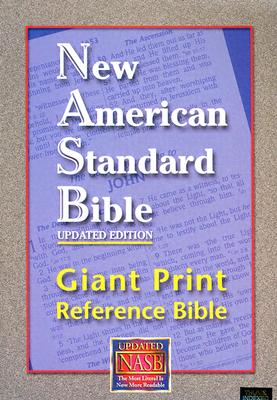 Giant Print Reference Bible-NASB - Foundation Publication Inc (Creator)