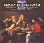 Giovanni Battista Bassani: Balletti, Correnti, Gighe e Sarabande, Opera prima
