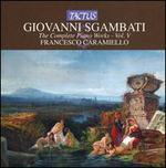 Giovanni Sgambati: The Complete Piano Works, Vol. 5 - Francesco Caramiello (piano); Francesco Libetta (piano)