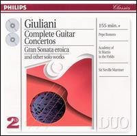 Giuliani: Complete Guitar Concertos - Academy of St. Martin in the Fields; Celedonio Romero (guitar); Pepe Romero (guitar); Neville Marriner (conductor)