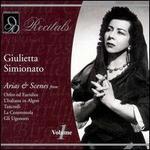Giulietta Simionato, Vol.1