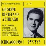Giuseppe di Stefano A Chicago 1950