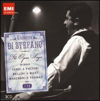 Giuseppe di Stefano Sings Verdi, Puccini, Bellini, Bizet, Mascagni, Thomas - Anna Maria Canali (mezzo-soprano); Carlo Forti (bass); Ebe Ticozzi (mezzo-soprano); Franco Ventriglia (baritone);...