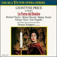 Giuseppe Verdi: La Forza del Destino - Camillo Sforza (tenor); Claudio Piccini (bass); Corinna Vozza (mezzo-soprano); Ezio Flagello (bass); Franco Ruta (bass);...