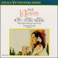 Giuseppe Verdi: La Traviata - Adelio Zagonara (vocals); Anna Moffo (soprano); Anna Reynolds (mezzo-soprano); Franco Calabrese (vocals); Franco Ventriglia (bass); Liliana Poli (soprano); Piero de Palma (vocals); Richard Tucker (tenor); Robert Merrill (baritone)