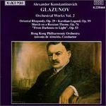 Glazunov: Orchestra Works, Vol.2