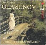 Glazunov: String Quartets, Vol. 2