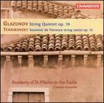 Glazunov: String Quintet, Op. 39; Tchaikovsky: Souvenir de Florence, Op. 70
