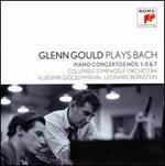 Glenn Gould Plays Bach: Piano Concertos Nos. 1-5 & 7
