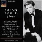 Glenn Gould plays Beethoven: Concerto No. 5, Concerto No. 2