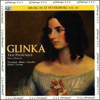 Glinka: Trio Pathétique; Viola Sonata No. 7 - Adrian Chandler (violin); Alberto Grazzi (bassoon); Colin Lawson (clarinet); Norbert Blum (viola); Olga Tverskaya (fortepiano)