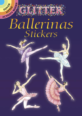 Glitter Ballerinas Stickers - May, Darcy