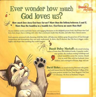 God Loves Me More Than That - Mackall, Dandi Daley