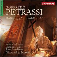 Goffredo Petrassi: Magnificat; Salmo IX - Sabina Cvilak (soprano); Coro Filarmonico del Regio di Torino (choir, chorus); Teatro Regio di Torino Orchestra;...