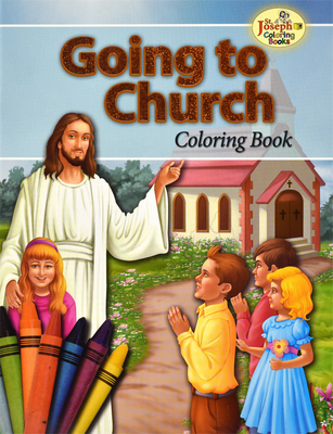 Going to Church Coloring Book - Catholic Book Publishing Co