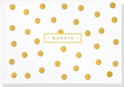 Gold Dots Guest Book - Peter Pauper Press, Inc (Creator)