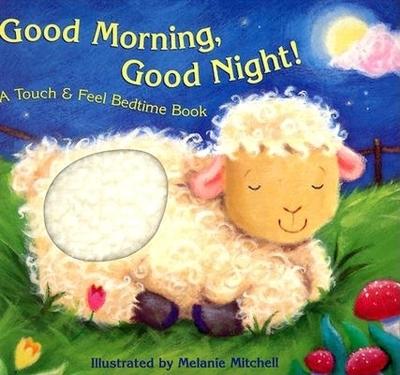 Good Morning, Good Night!: A Touch & Feel Bedtime Book - Imperato, Teresa