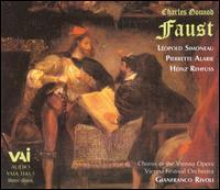 Gounod: Faust - Heinz Rehfuss (bass); L�opold Simoneau (tenor); Liliane Berton (mezzo-soprano); Pierrette Alarie (soprano);...