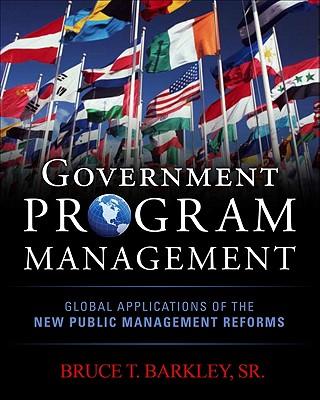 Government Program Management - Barkley, Bruce T