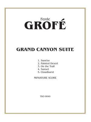 Grand Canyon Suite: Miniature Score, Miniature Score - Grofe, Ferde (Composer)
