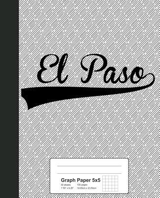 Graph Paper 5x5: EL PASO Notebook - Weezag
